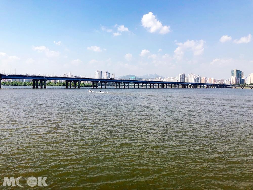 首爾漢江與麻浦大橋