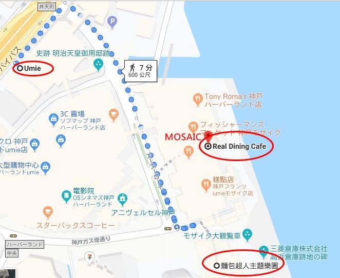 神戶麵包超人兒童博物館地圖