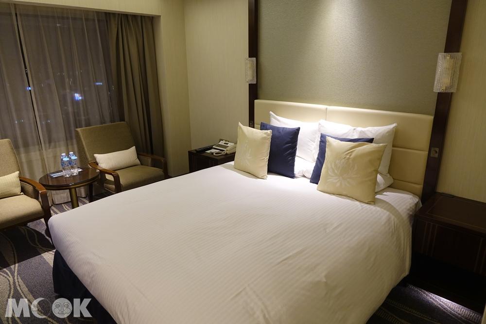 神戶大倉飯店房間內