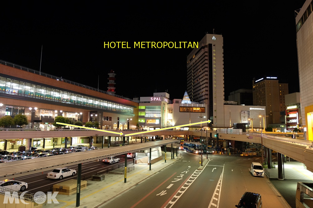 HOTEL METROPOLITAN仙台位置