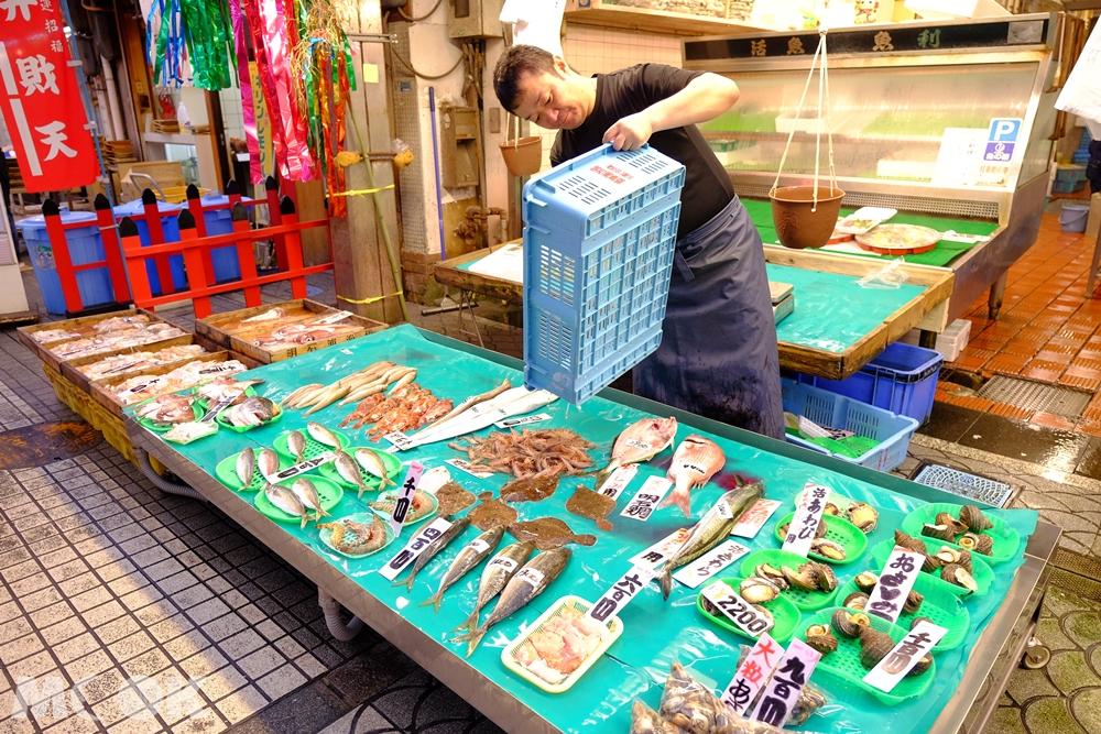 明石魚棚商店街