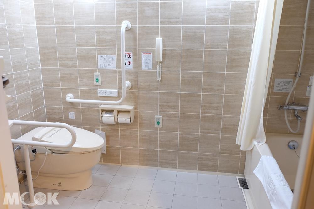 ホテルメッツ福島  無障礙空間房型