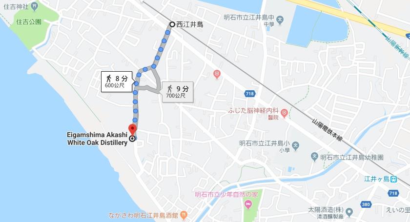 酒井島酒造地圖