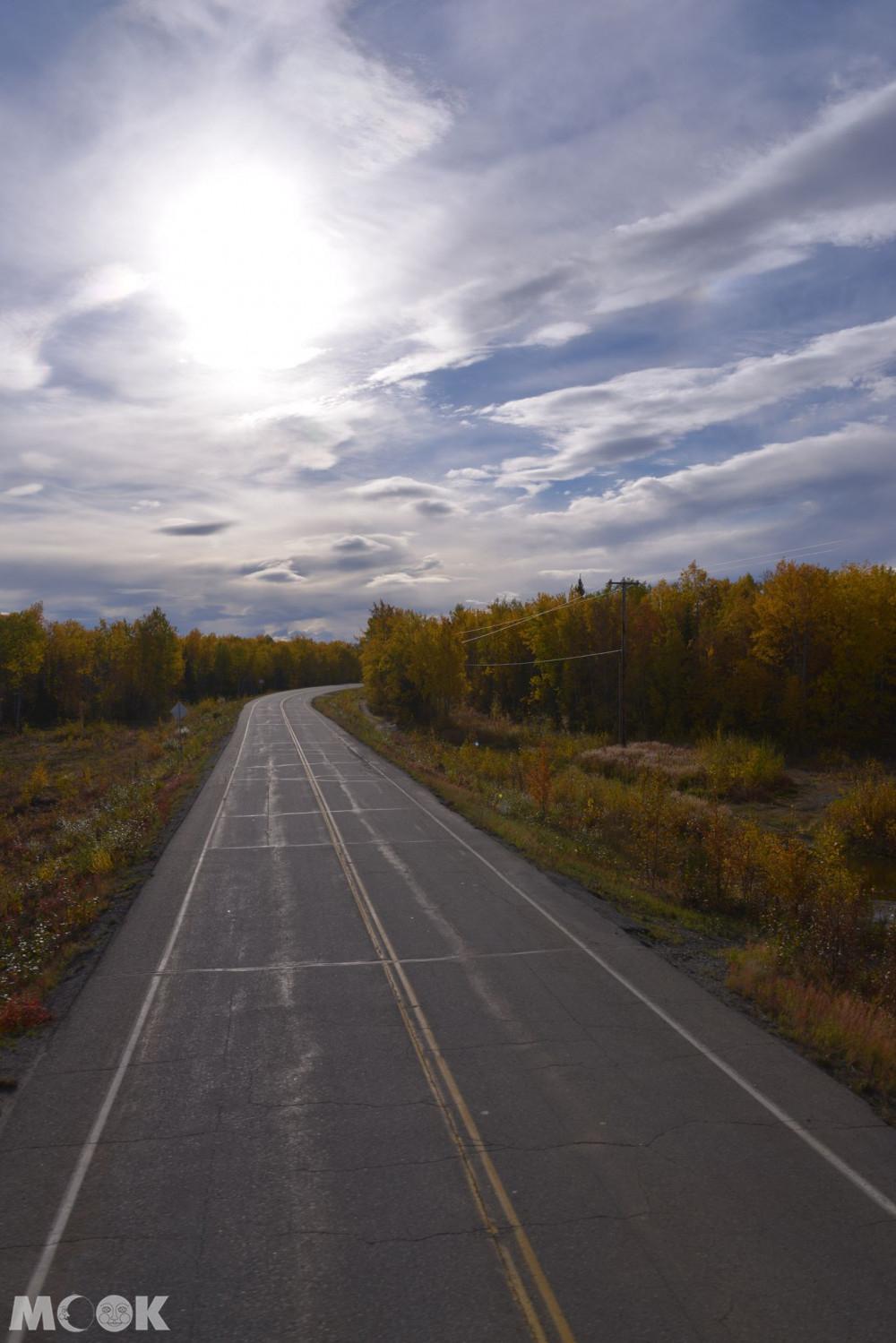 阿拉斯加公路風景