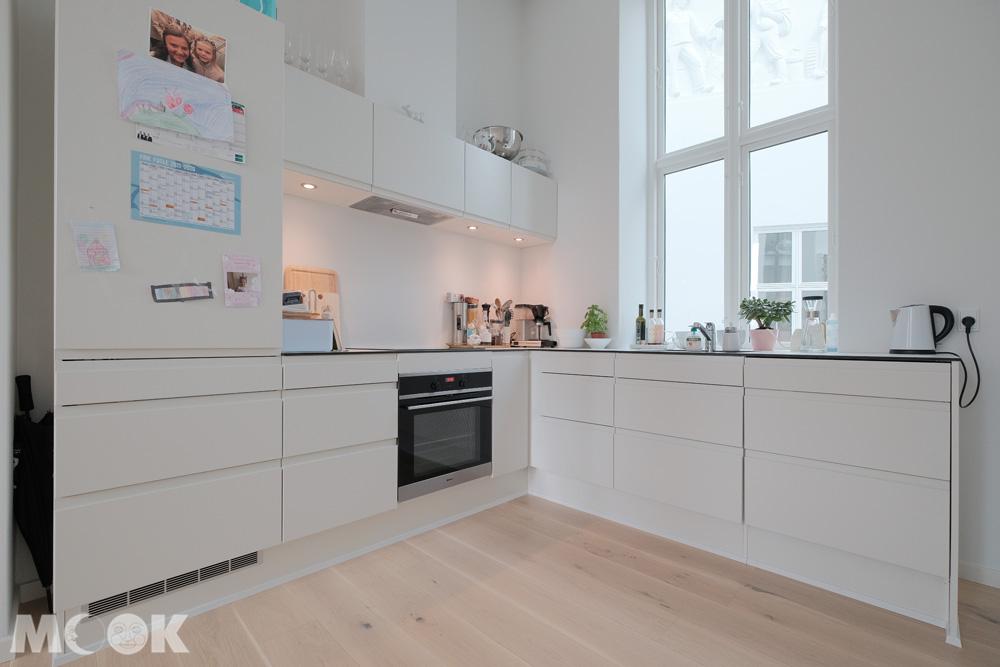 烏丹斯公寓airbnb廚房