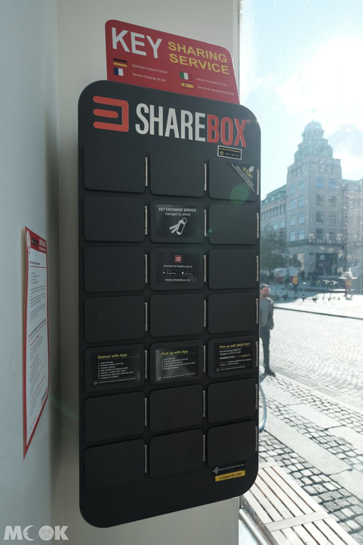 sharebox鑰匙盒