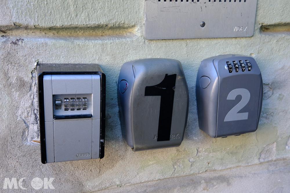 airbnb密碼鑰匙盒