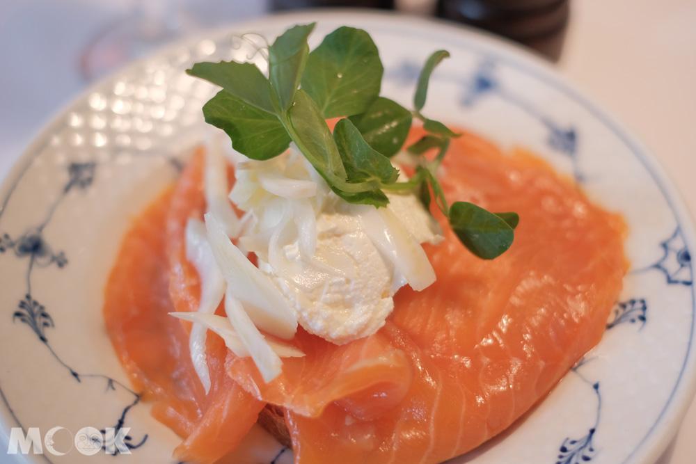 北歐的燻鮭魚