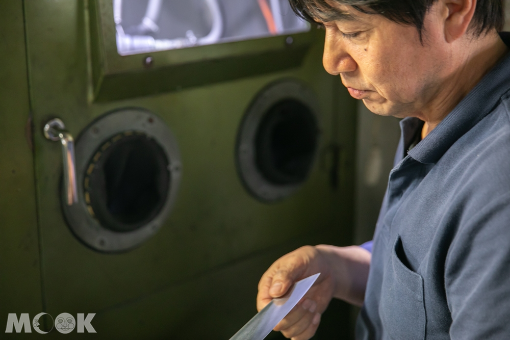 龍泉刃物的代表取締役──增谷浩司
