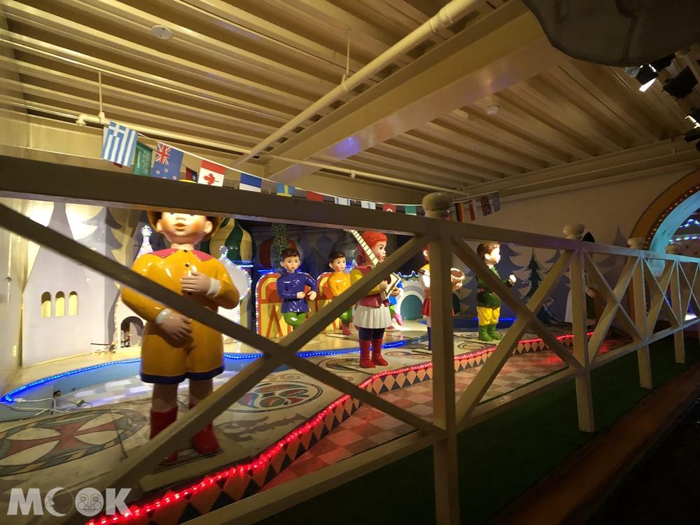 小人國主題樂園 水道船