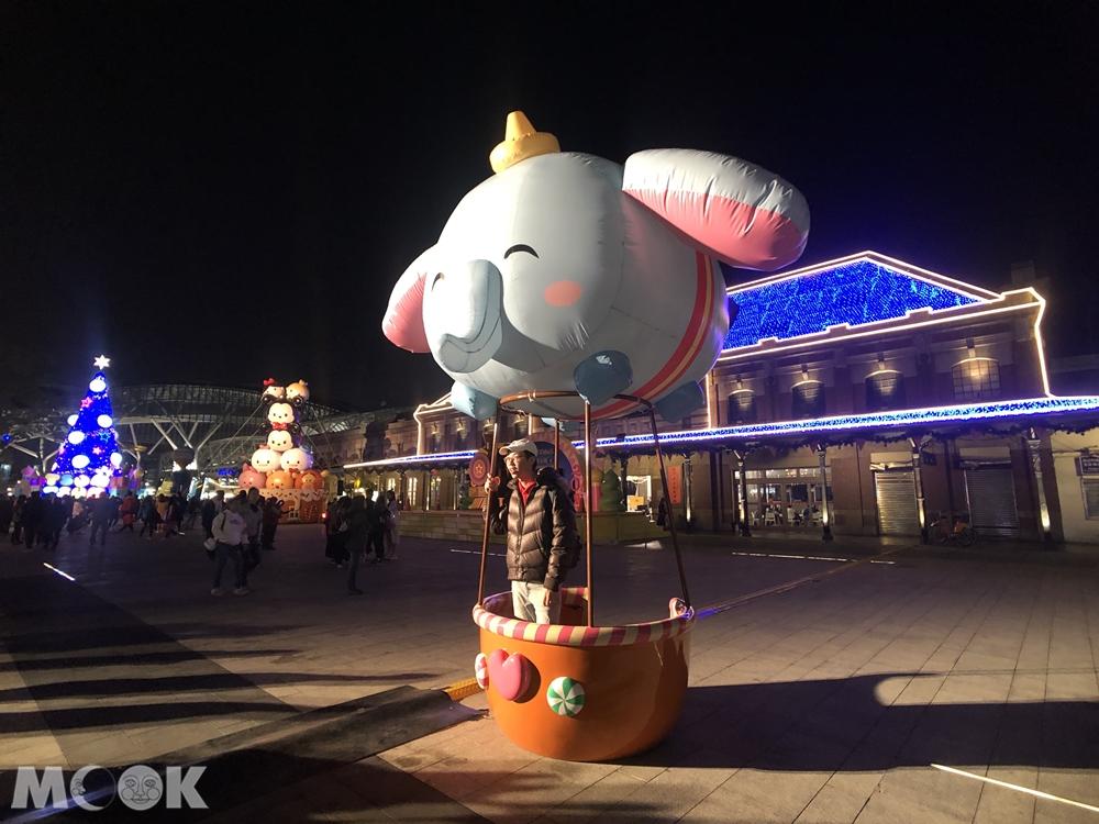 2019臺中耶誕夢想世界 小飛象熱氣球