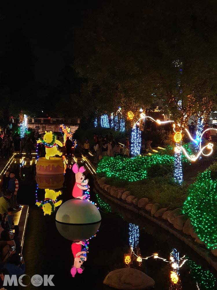 2019臺中耶誕夢想世界 綠川