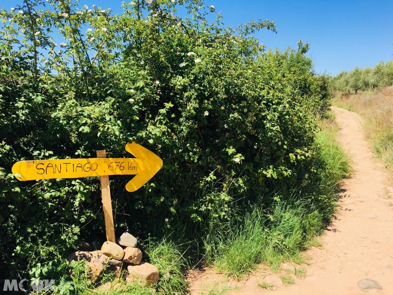 朝聖之路的象徵標誌