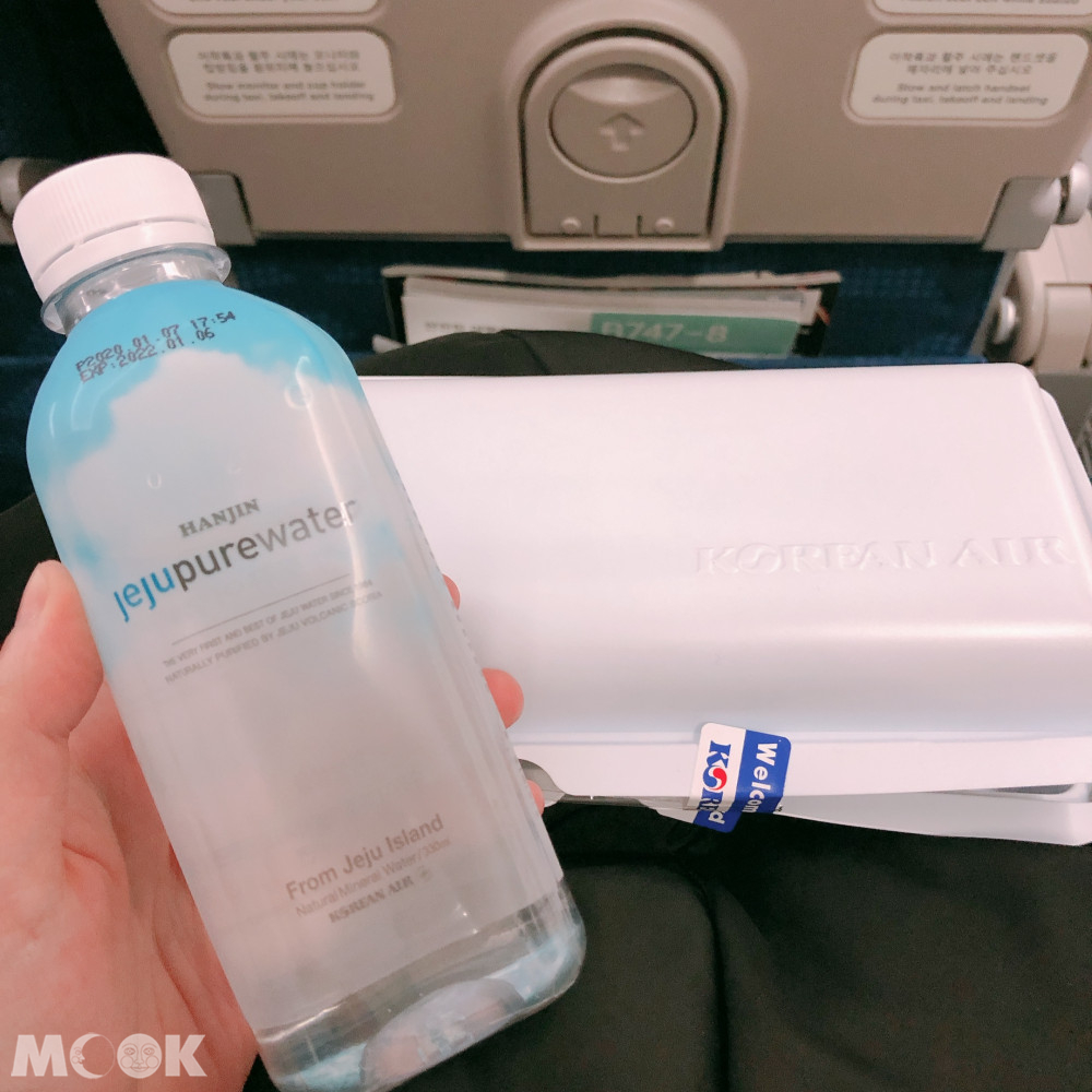 取消飛機餐後大韓航空機內給的餐盒