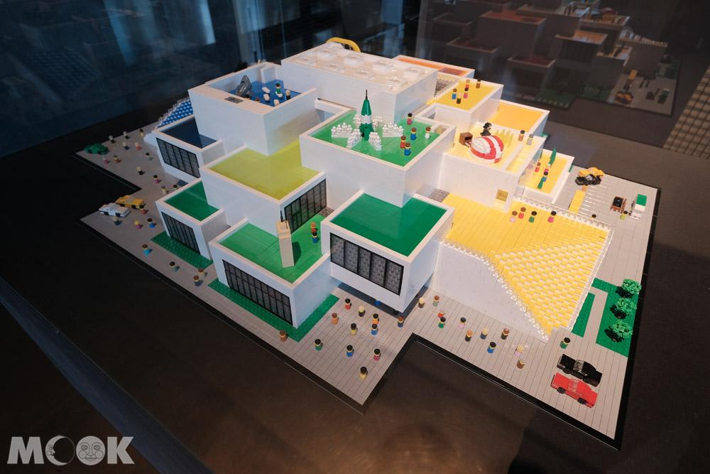 哥本哈根丹麥建築中心中的樂高之家