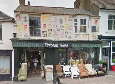 英國Brighton布萊頓的商店Diplock's Yard