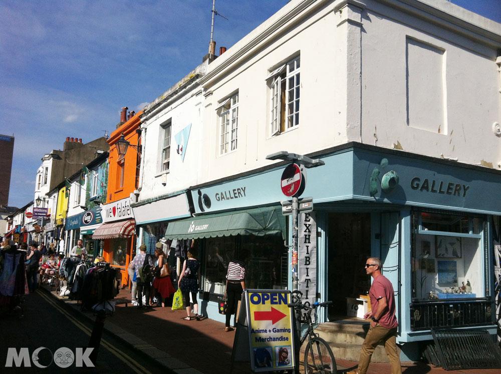 英國Brighton布萊頓的市區街景