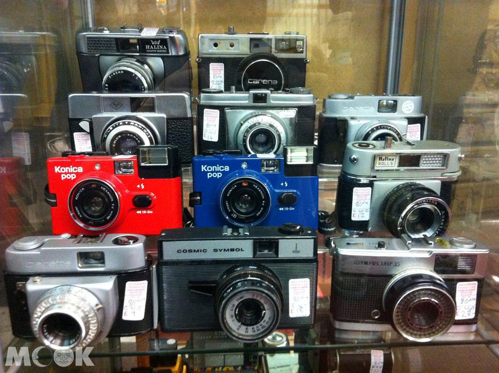 英國Brighton布萊頓的商店Snoopers Paradise Ltd 二手相機