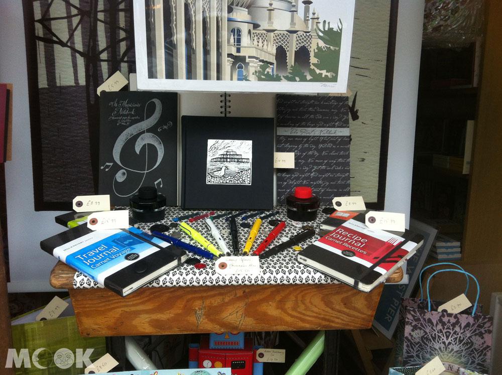 英國Brighton布萊頓的文具店Pen To Paper