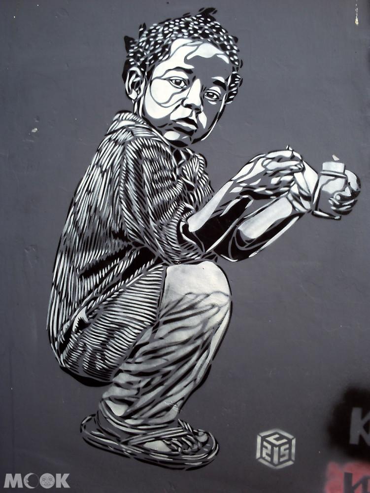 英國Brighton布萊頓的塗鴉