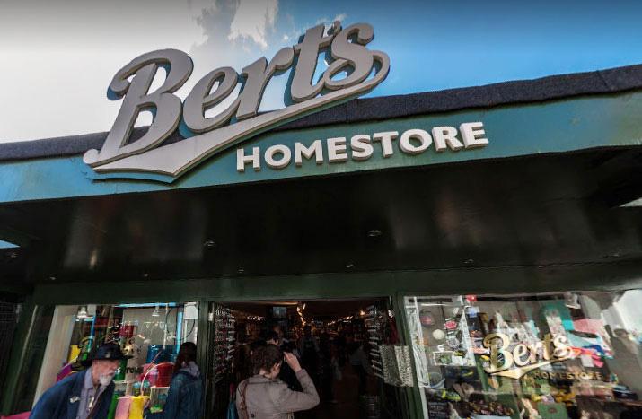 英國Brighton布萊頓的商店Bert's Homestore