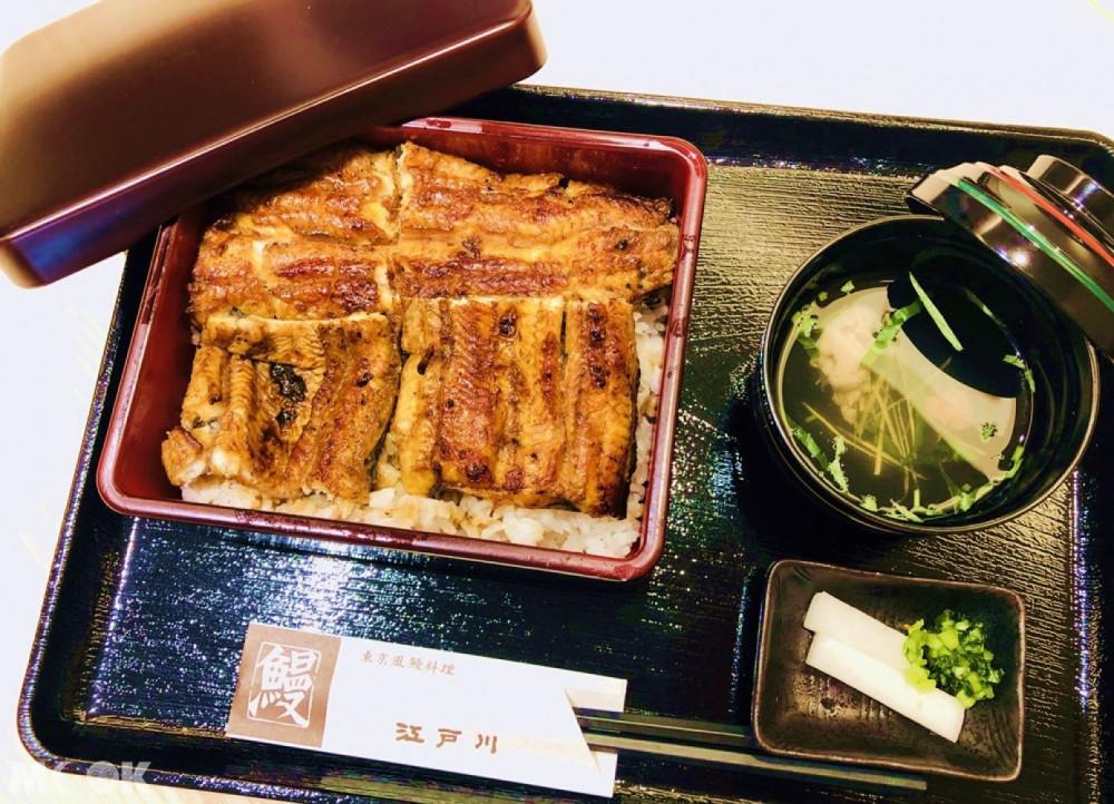 江戶川鰻魚飯鰻重套餐