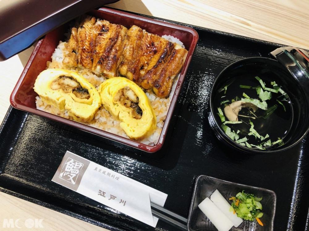 江戶川鰻魚飯蒲燒鰻玉子重