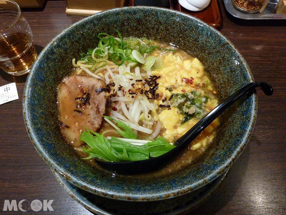 一粒庵以北海道食材做成的新口味拉麵