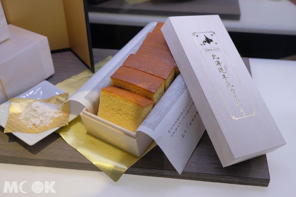辻口博啓的蛋糕品牌北海道牛乳カステラ