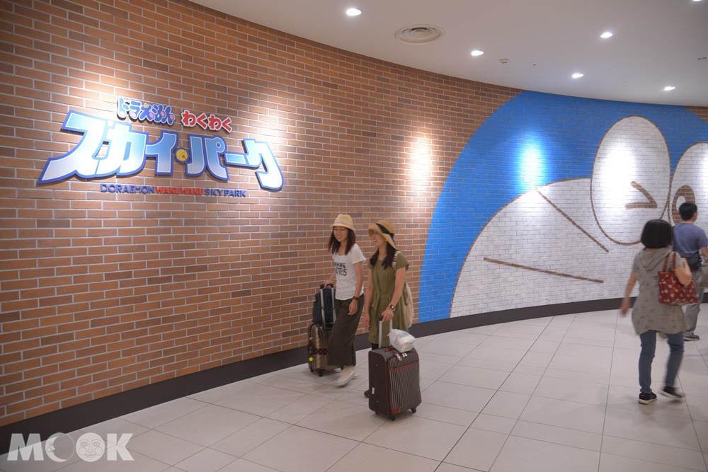新千歲機場的哆啦A夢空中樂園