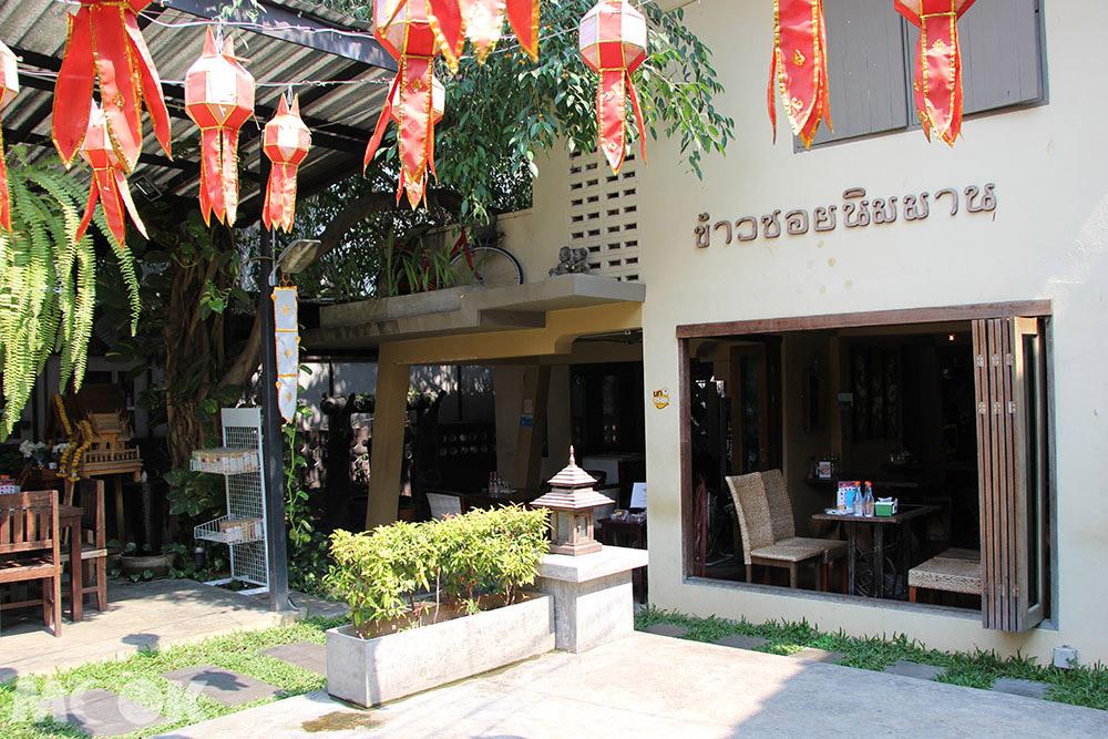 泰國 清邁 尼曼明路 泰國美食 清邁美食 小吃 Kao Soy Nimman外觀
