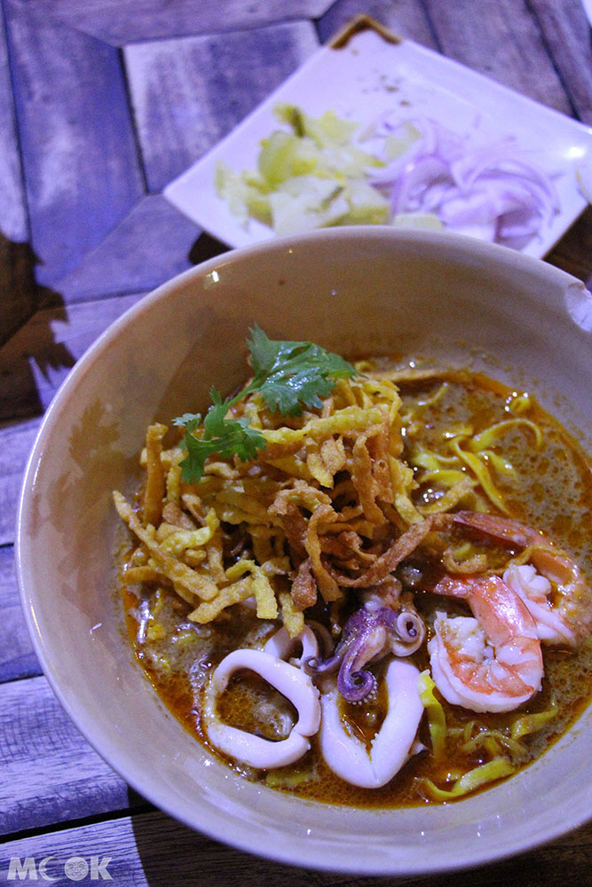泰國 清邁 尼曼明路 泰國美食 清邁美食 小吃 Kao Soy Nimman