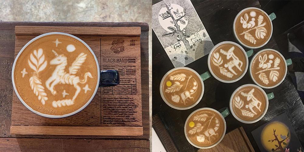 泰國 清邁 尼曼明路 泰國美食 清邁美食  RISTR8TO 咖啡拉花