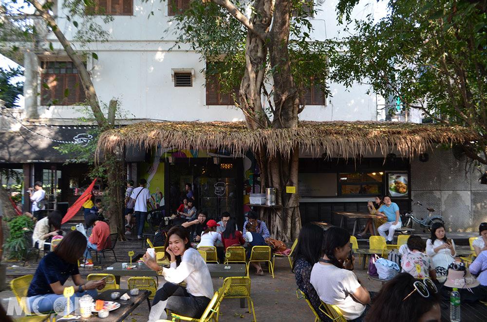 泰國 清邁 尼曼明路 泰國美食 清邁美食 小吃 咖啡iberry Garden