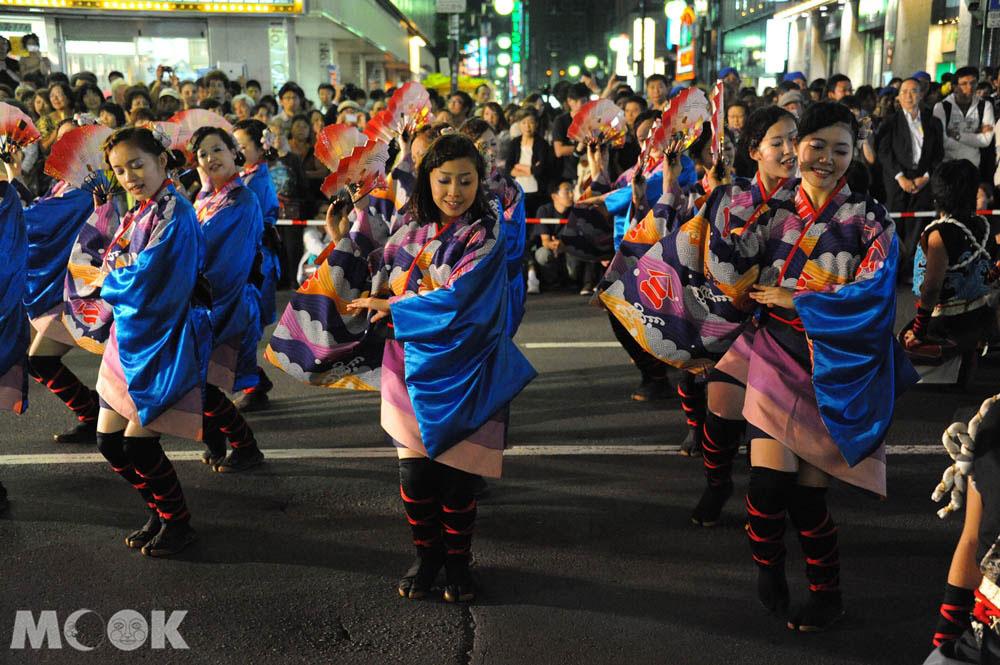 札幌夏天舉辦的YOSAKOI索朗節