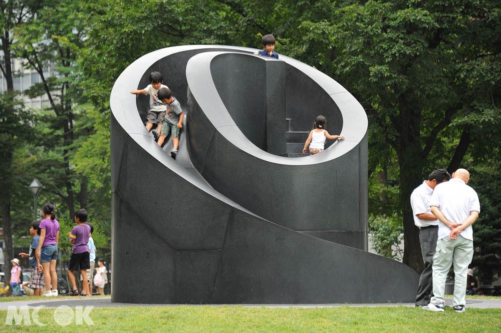 札幌大通公園內的設施
