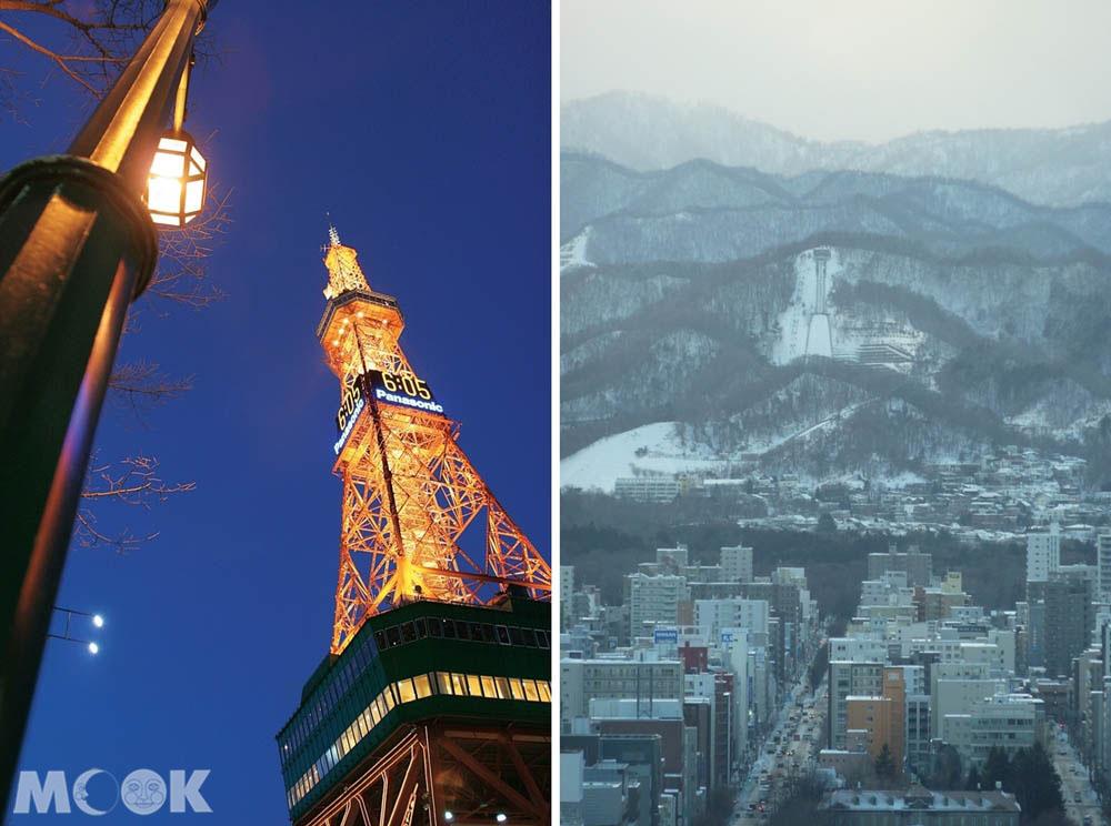 札幌電視塔的風景