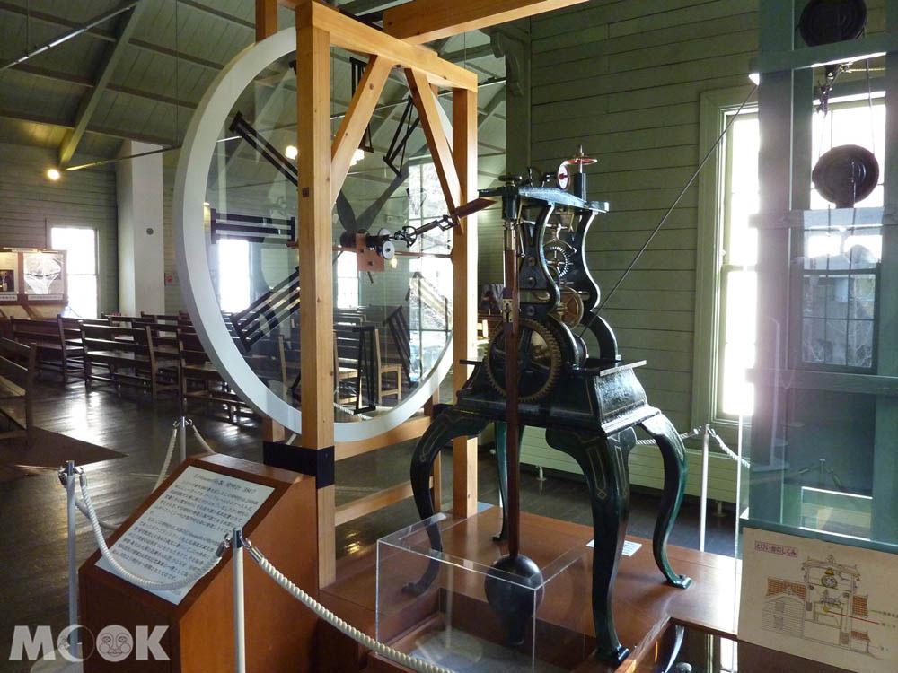 札幌時計台2樓展出的時鐘