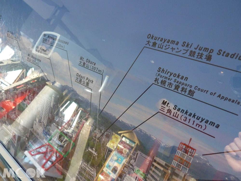 札幌電視塔內的設施