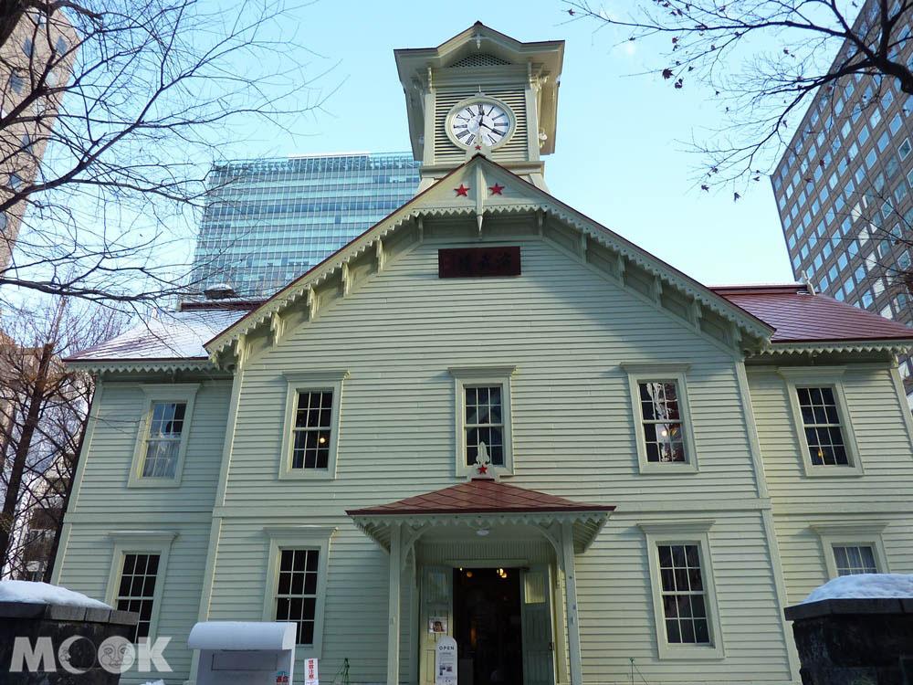 札幌市內的時計台