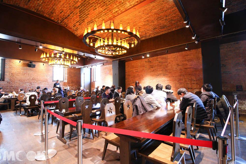 札幌啤酒博物館1樓的Star Hall