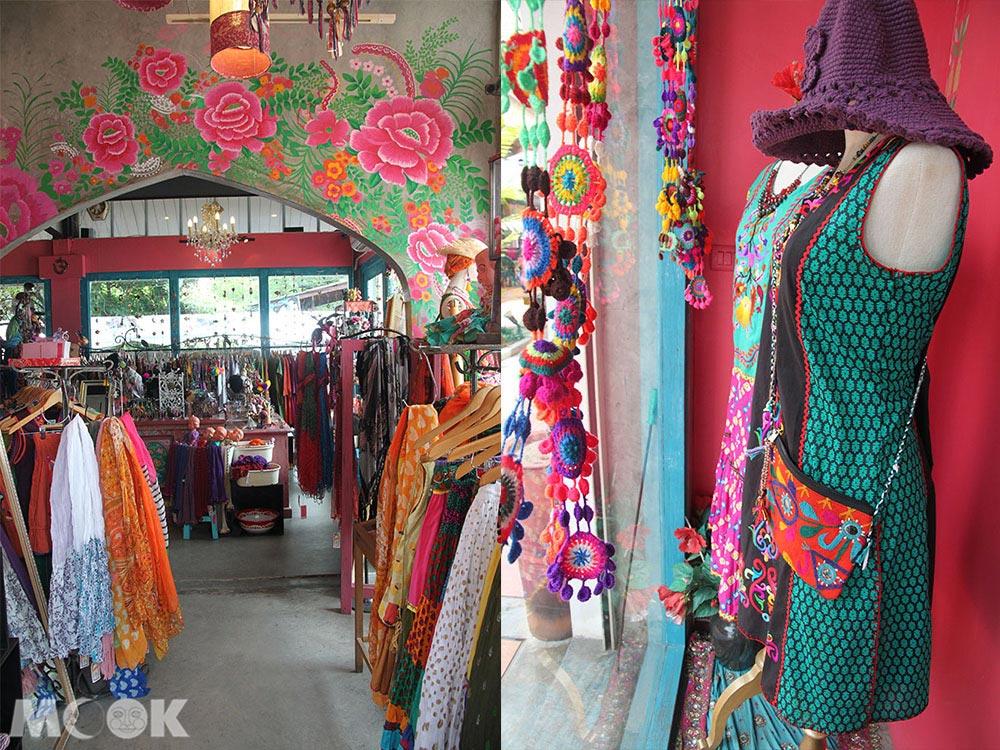 泰國 清邁 尼曼明路 購物 小店 Chabaa店內