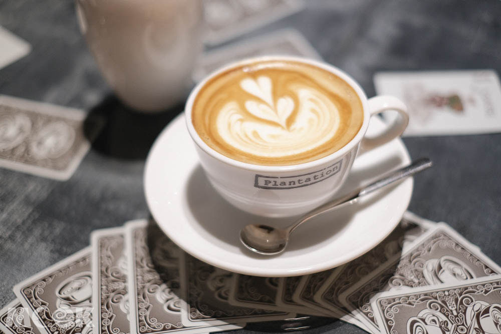 森彥分店Plantation的咖啡