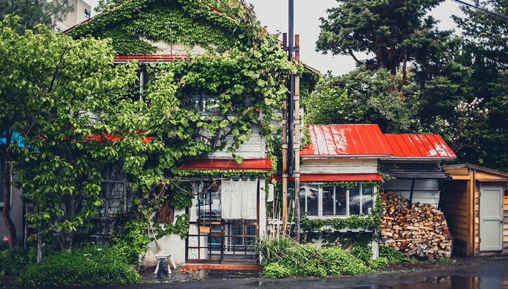 札幌的森彥咖啡本店外觀