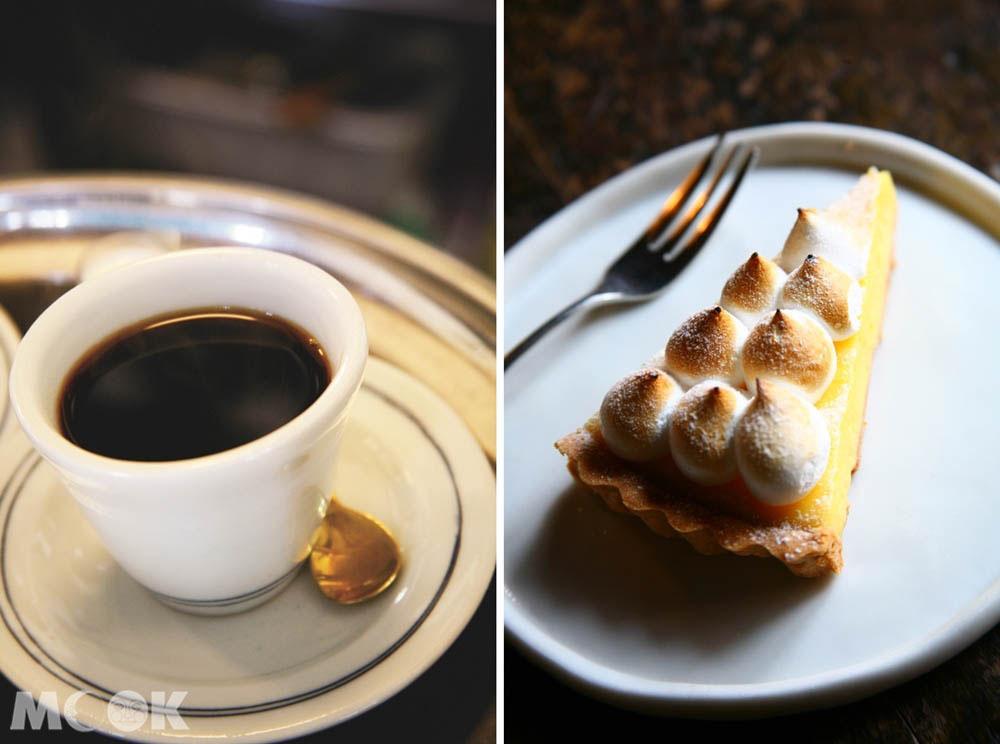 札幌森彥本店的咖啡與甜點