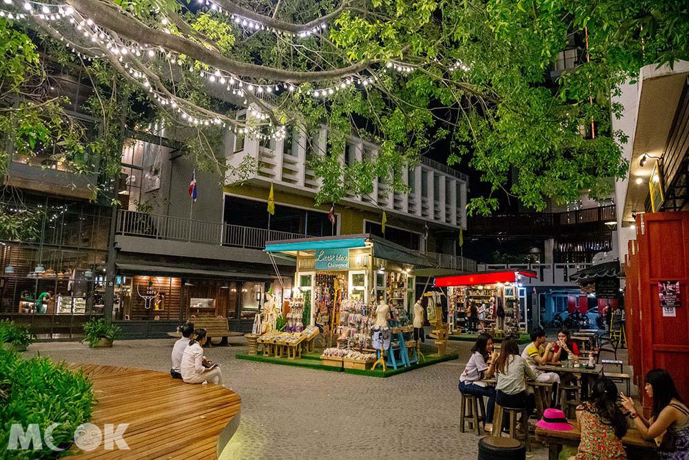泰國 清邁 尼曼明路 購物 商場 Think Park很多小店
