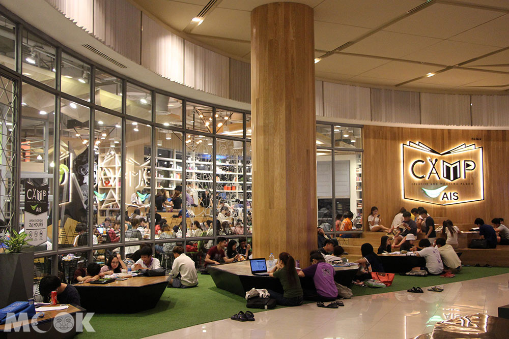 泰國 清邁 尼曼明路 購物 商場 Maya Lifestyle Shopping Center_C.A.M.P咖啡店