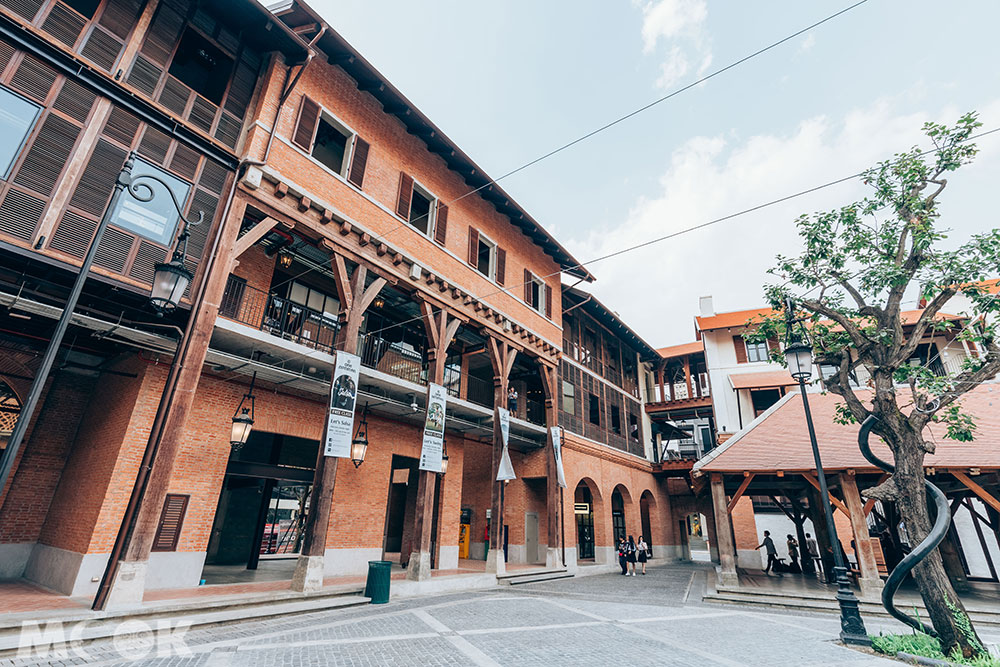 泰國 清邁 尼曼明路 One Nimman商場外觀