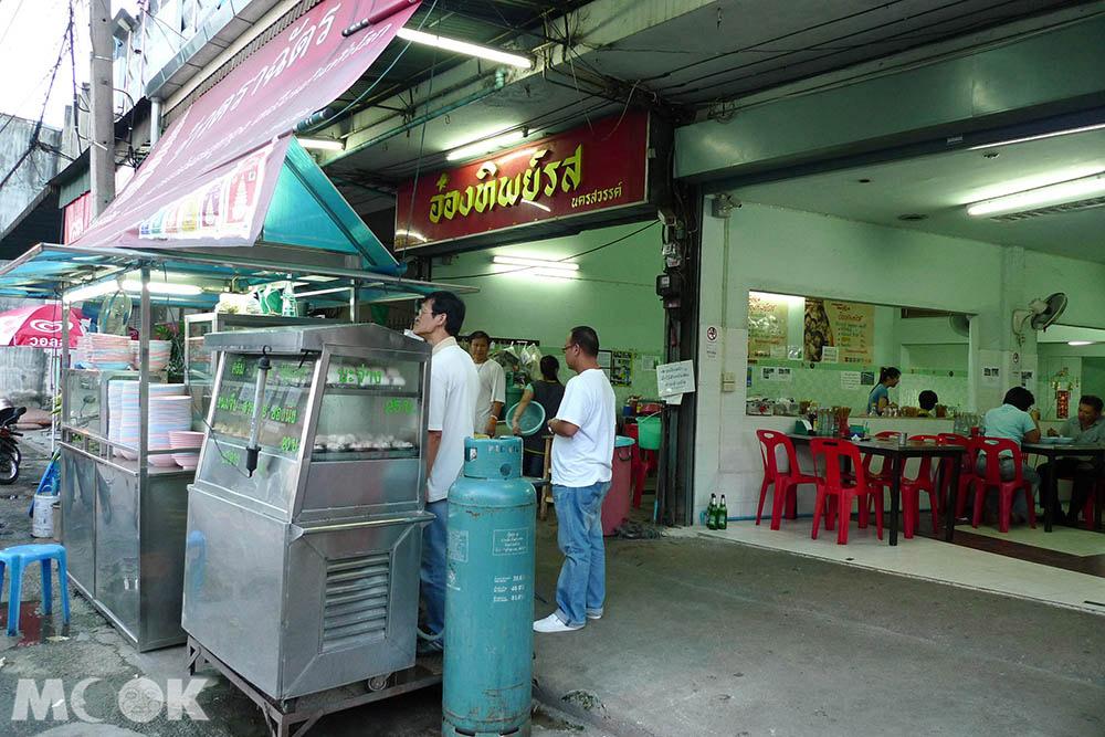 泰國 清邁 舊城 古城 小吃 麵攤 Onthiprot