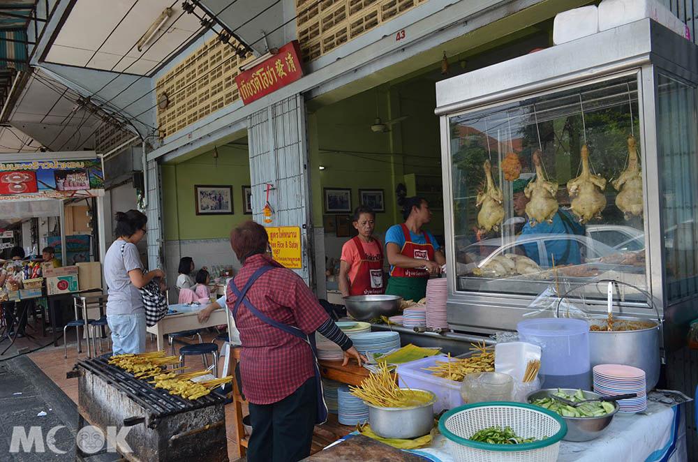 泰國 清邁 舊城 古城 小吃 清發 海南雞飯